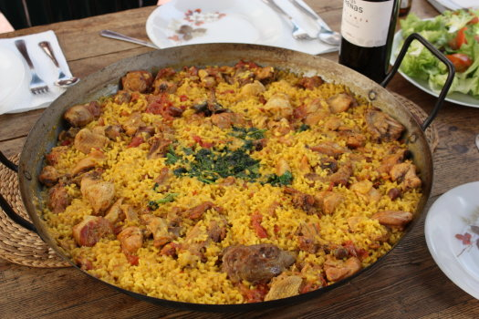 Traditional Spanish food
