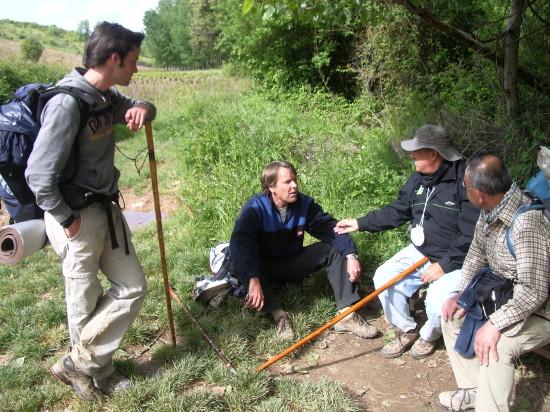 Sharing experiences on El Camino