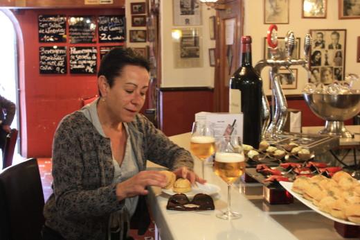 foodie experience in Spain