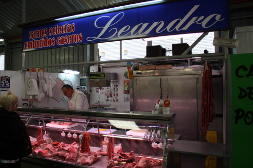 The food markets in Spain are unique