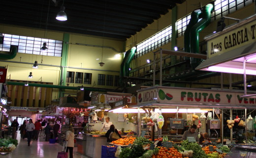 Food and fub in Valencia